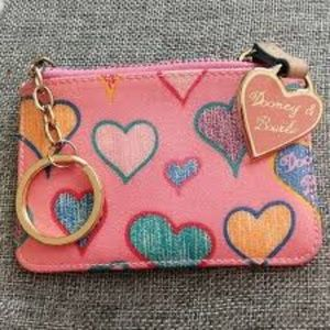 Dooney & Bourke vintage pink coin purse